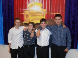 Beit Or bar mitzvah boys Sept 2014