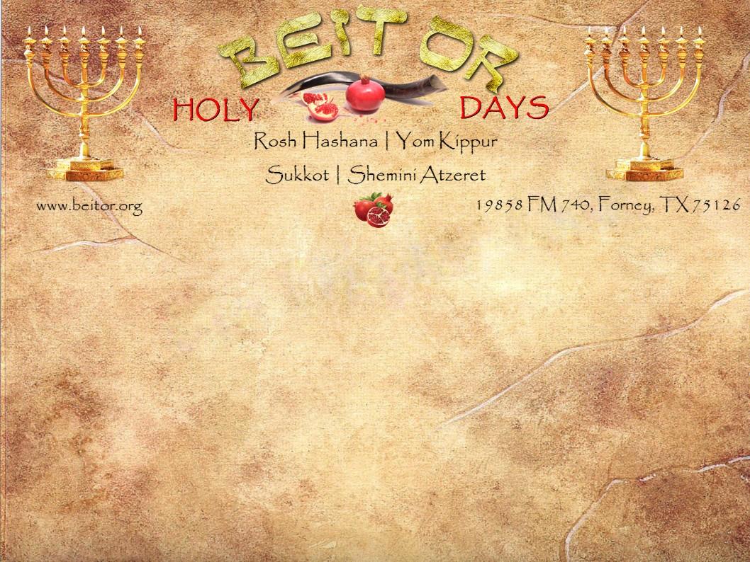 Beit-Or-Holy-Days-slider-Holy-Days